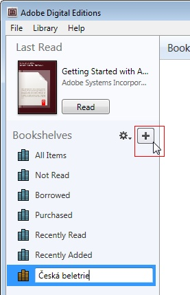 how to add an epub to adobe digital editions