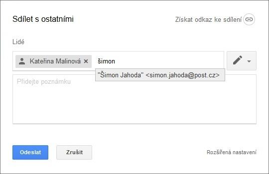 Dokumenty Google Sdílení Dokumentů NaPočítačicz - Google dokument